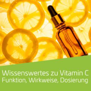 Wissenswertes zum Mikronährstoff Vitamin C